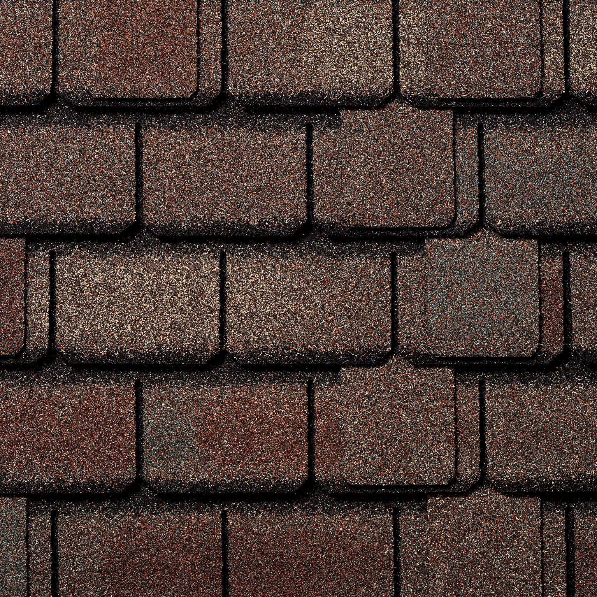 Close-up photo of GAF's Camelot San Gabriel shingle swatch