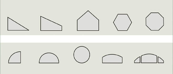 6200 Architectual Shapes