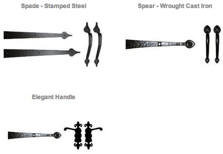 Decorative Hardware Options