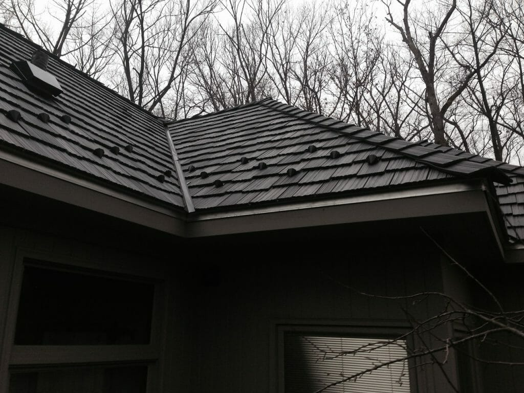 Traditional slate is sometimes too heavy for some houses to support