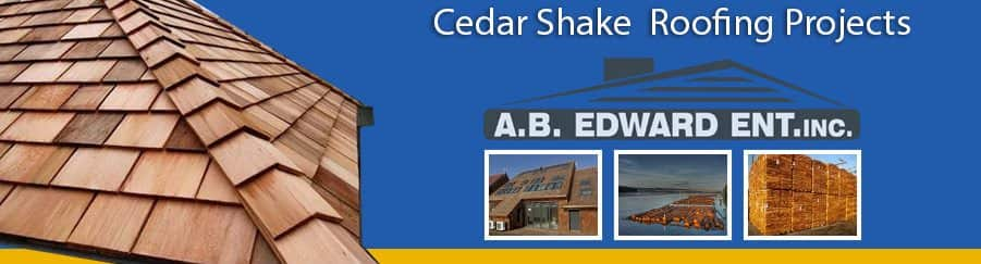 Cedar Shake Roofing Projects by A.B. Edward Enterprises, Inc. | (847) 827-1605 | www.abedward.com