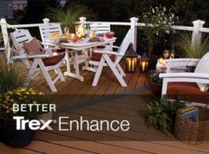 ENHANCE® DECKING Trex® signature strength in three versatile colors