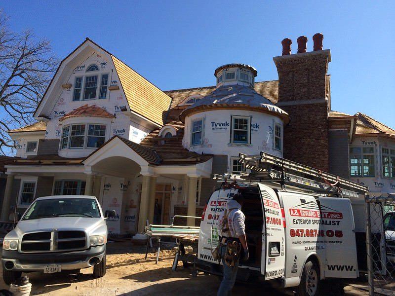 Cedar Roofing Shingles - Installation