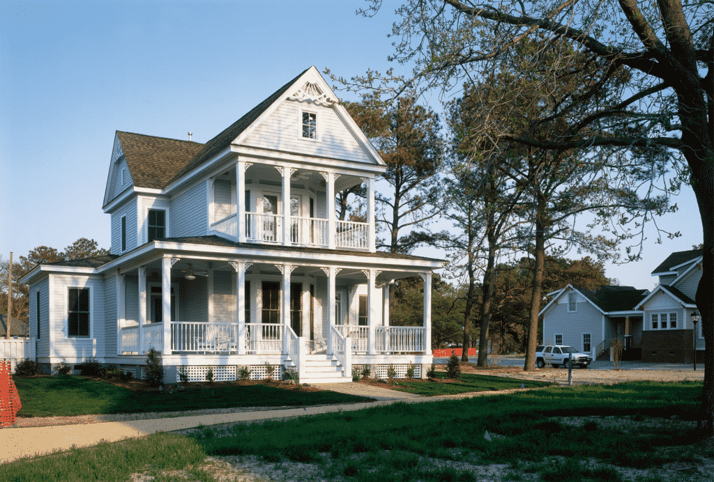 Monochromatic Victorian by James Hardie