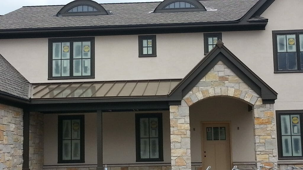 Metal is a great eco friendly roof option