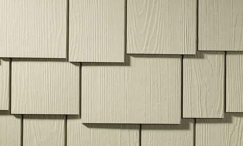 Hardie Shingles – Staggered Edge Panel