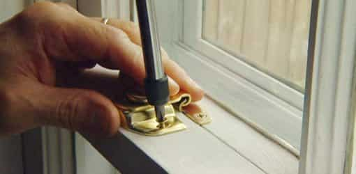 Adding locks to windows can help them close tighter and reduce heat in your house.
