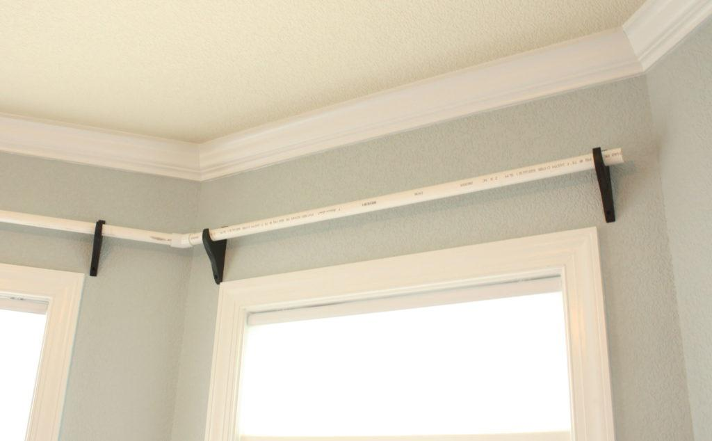 Home Hack: $20 Worth of PVC Pipes, Hang On Wall... BAM ...