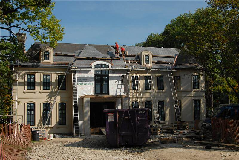 Slate roofing company - Chicago (847) 827-1605