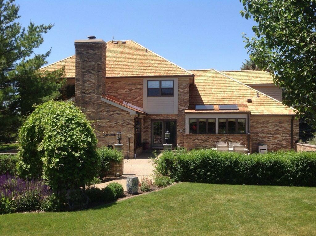 Cedar Shake Roofing Project - Wadsworth IL