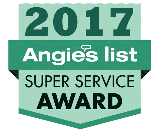 Angie's List Award reflects company's consistently high level of customer service
