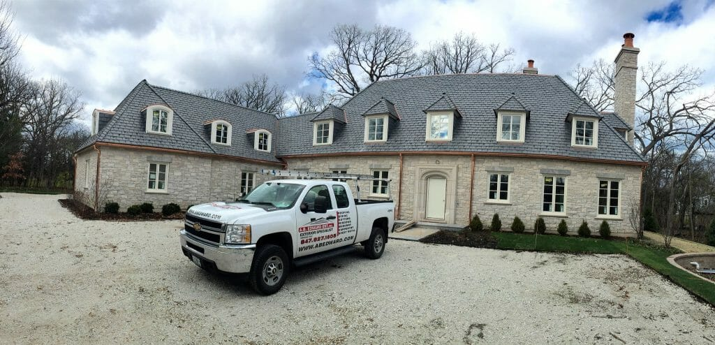 Slate Roofs come in variety of options