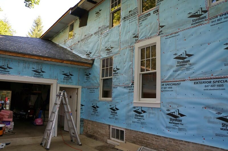 Siding repair acn be tricky and should be undertaken by a professional like A.B. Edward Enterprises, Inc.