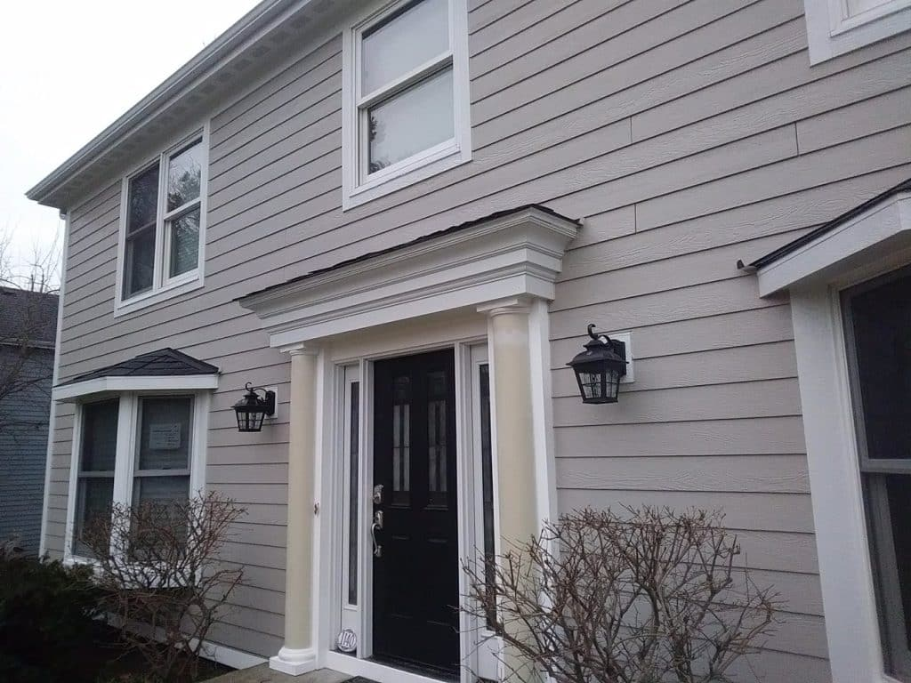 Home exterior project