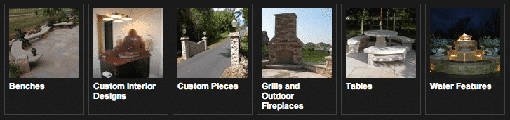 Specialty Stone Examples