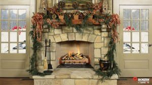 Finished Indoor Fireplaces