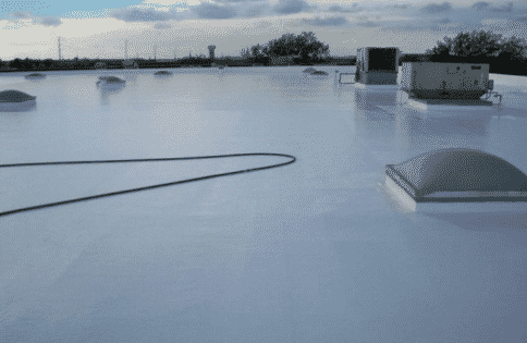 Gaco Roof Coating Gives An Old Roof New Life