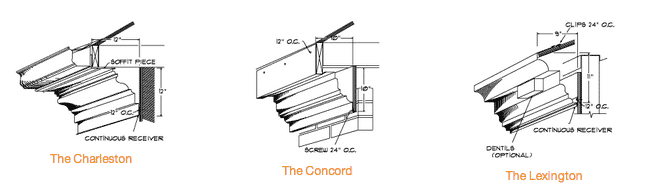 CopperCraft decorative crown molding cornices in copper or zinc create striking appeal that remains long after installation, delivering a noteworthy project.