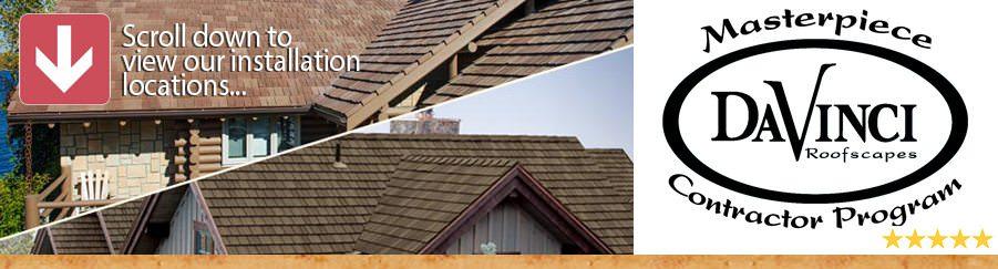 DaVinci Roofing Installations A.B. Edward Enterprises, Inc. | (847) 827-1605 | www.abedward.com