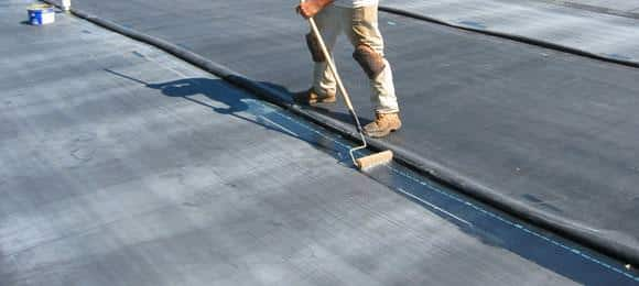 Epdm Durable Synthetic Rubber Roofing Membrane A B