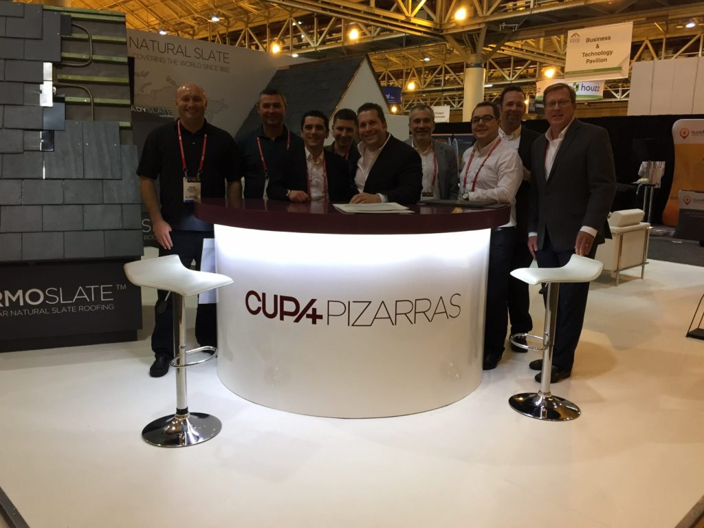 A.B. Edward Enterprises, Inc and our partners at CUPA at the 2015 International Roofing Expo!