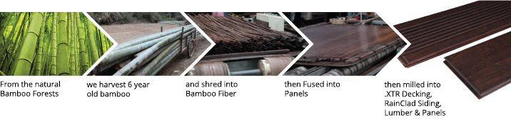 dassoXTR bamboo decking products