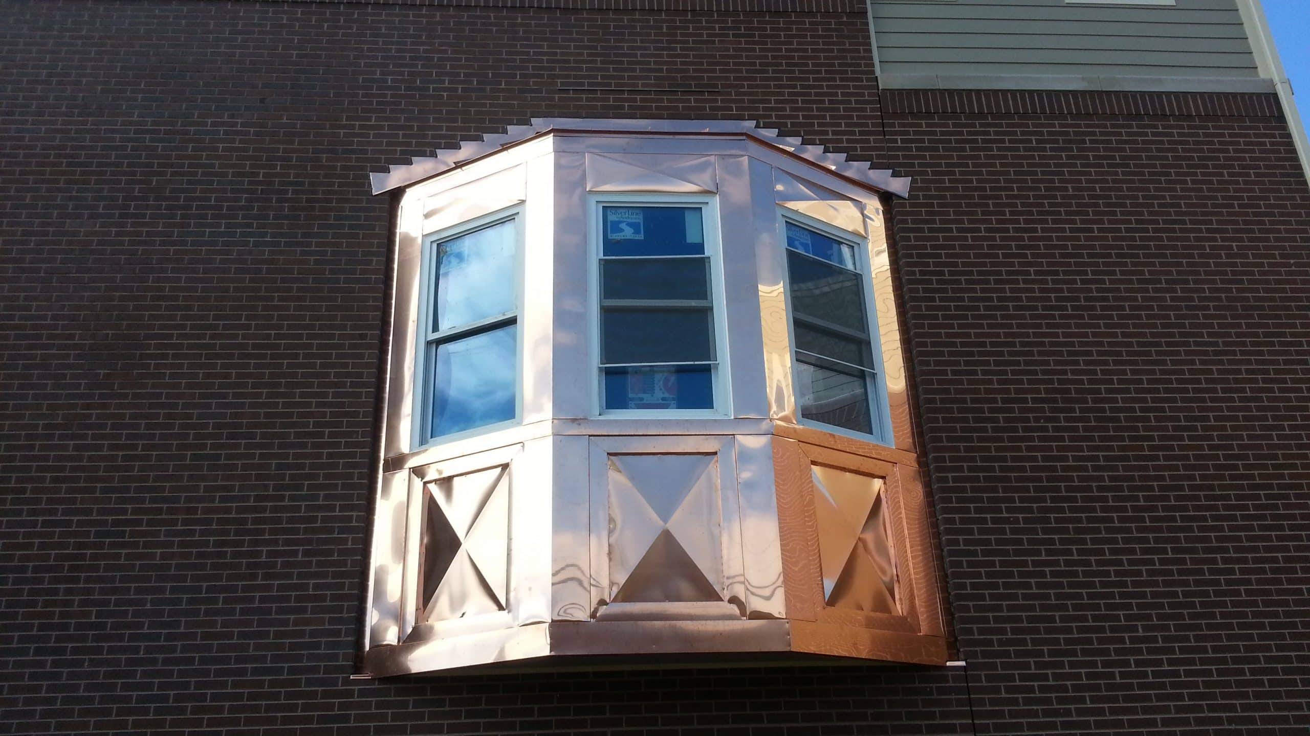 Copper Bay Windows Amp Copper Soffit Fascia Chicago Il
