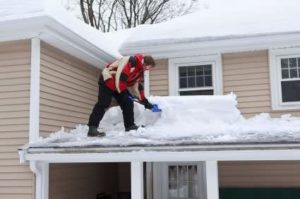 Removing Snow On Roof