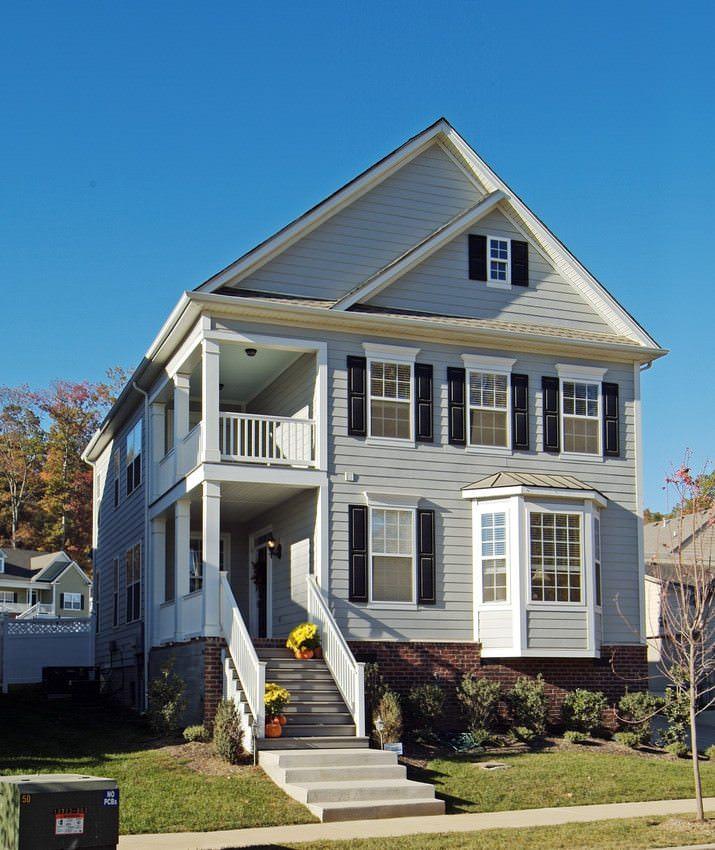 ColorPlus, Light Mist, House, Home, Exterior, Plank
