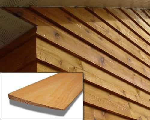 Beveled Cedar Siding – Stained