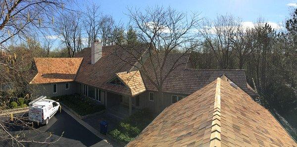 Cedar Roofing Install