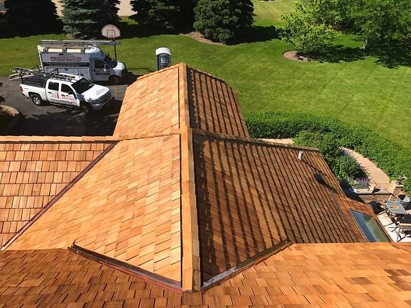 We Are A Cedar Roofing Contractor in the Chicagoland area