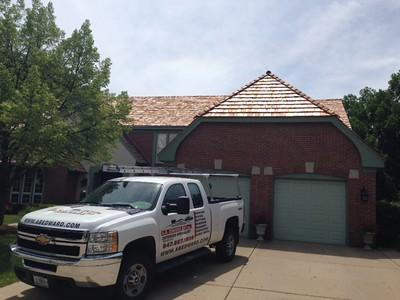 Cedar Roof Repair and Installation