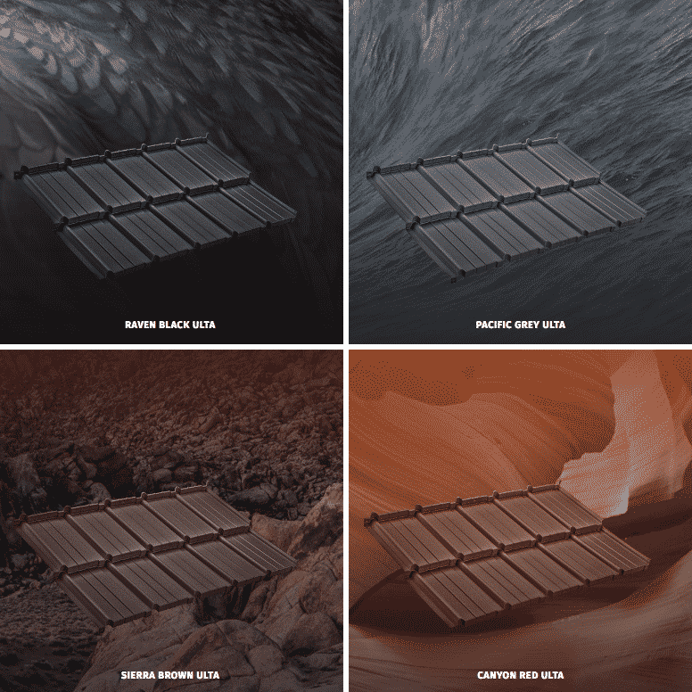 Ulta Metal Roofing Styles