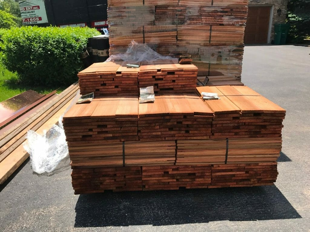 cedar roofing contractor
