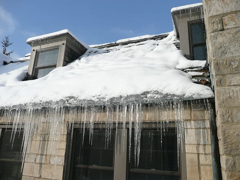 Ice damming can cause damage to your roof and home