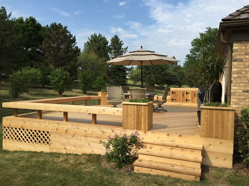 Decking by A.B. Edward Enterprises, Inc.